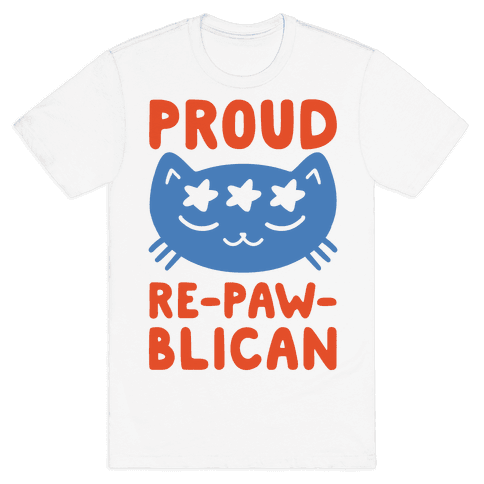 Proud Repawblican Mens T-Shirt