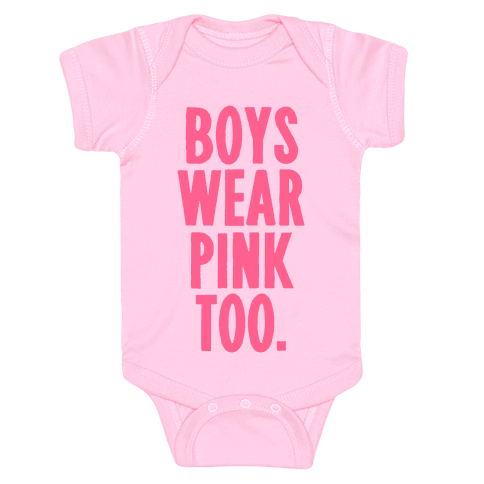 Boys Wear Pink Too