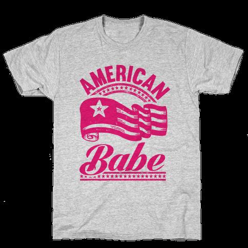 American Babe Mens T-Shirt