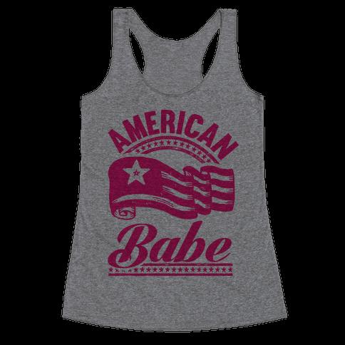 American Babe Racerback Tank Top