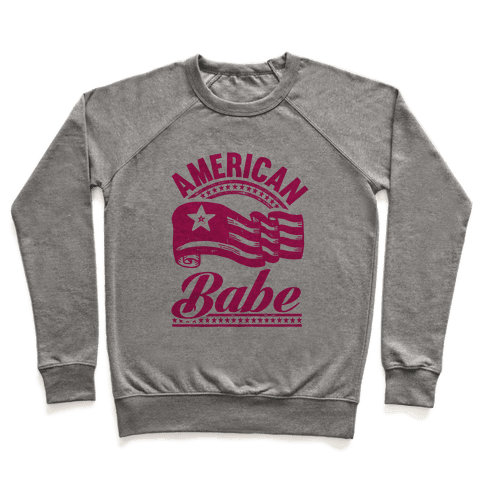 American Babe Pullover