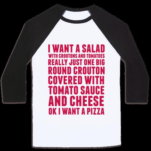 I Want a Salad