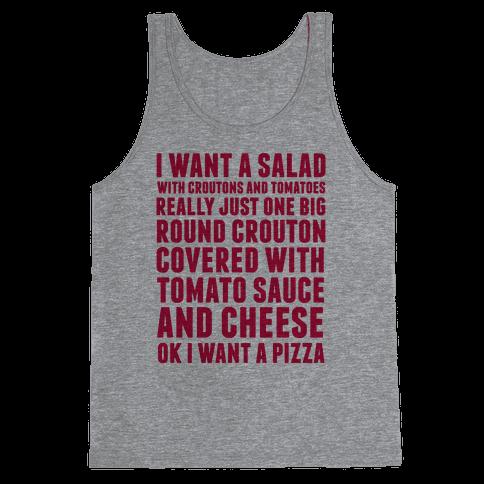 I Want a Salad Tank Top