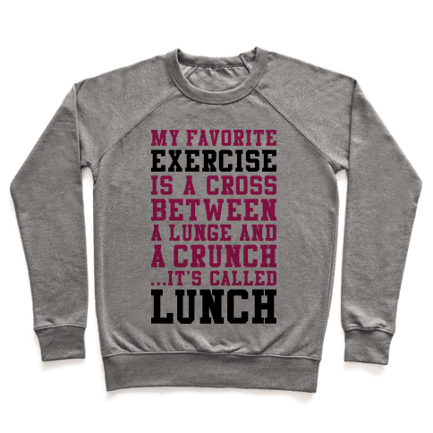 Lunge Crunch Lunch Pullover