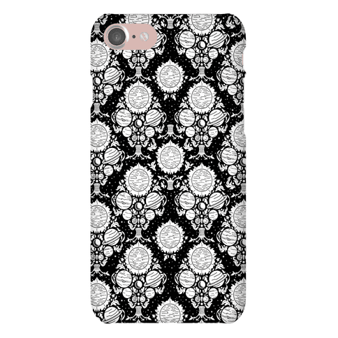 Victorian Planet Pattern Phone Case