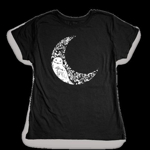 Night Owl Womens T-Shirt
