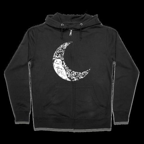 Night Owl Zip Hoodie