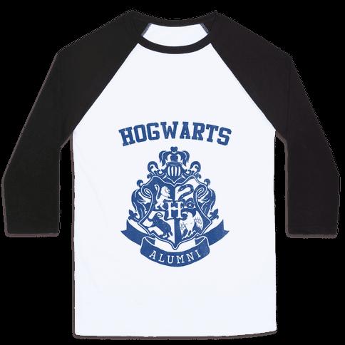 Hogwarts Alumni (Ravenclaw) Baseball Tee