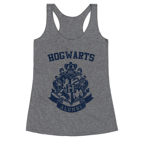 Hogwarts Alumni (Ravenclaw) Racerback Tank Top