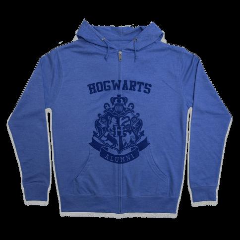 Hogwarts Alumni (Ravenclaw) Zip Hoodie