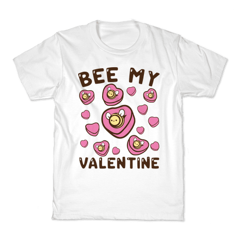 Bee My Valentine Kids T-Shirt