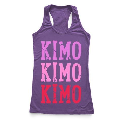 Kimo Kimo Kimo! Racerback Tank Top