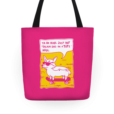 Talking Dog on a Tote Cool Tote