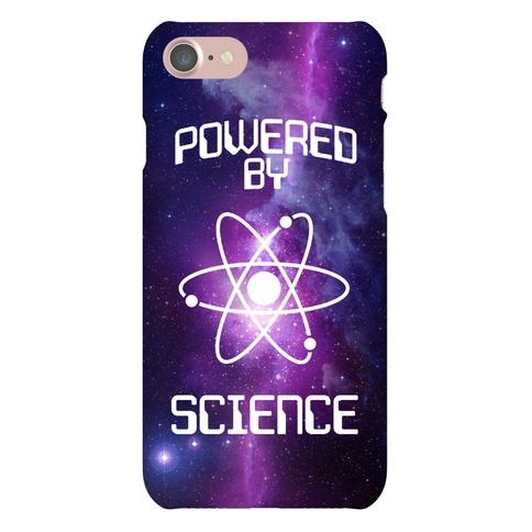 Powered By Science Phone Case