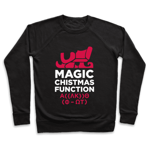 Magic Christmas Function (White Ink) Pullover