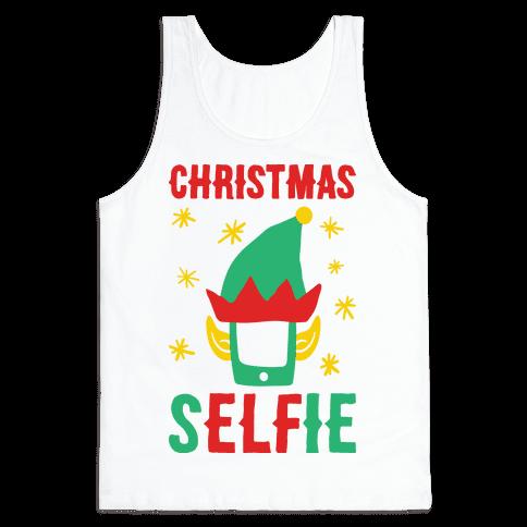 Christmas Selfie Tank Top
