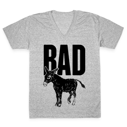 Bad V-Neck Tee Shirt