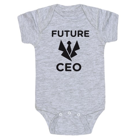 CEO of Tomorrow Baby Onesy