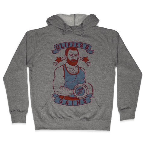 Uliftes S. Gains Hooded Sweatshirt