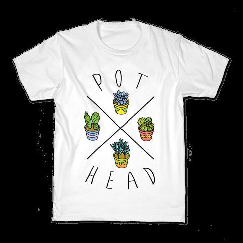 Pot Head Succulents Kids T-Shirt