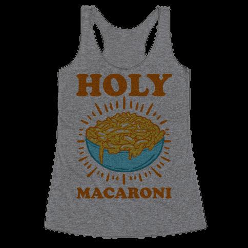Holy Macaroni Racerback Tank Top