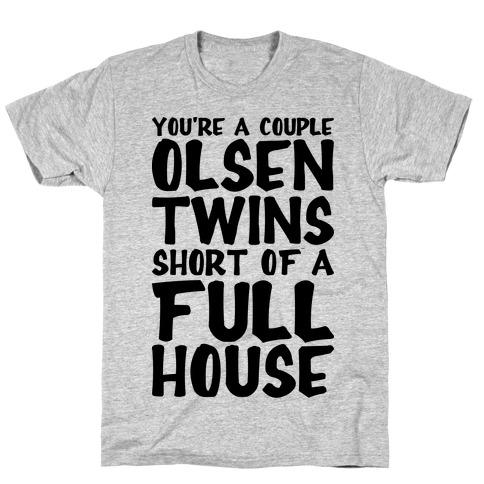 A Couple Olsen Twins Short T-Shirt