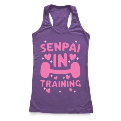 Senpai In Training Racerback Tank Top