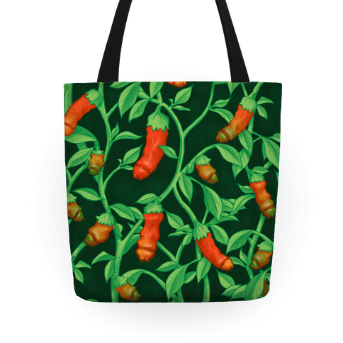 Ripening Peter Pepper Pattern Tote
