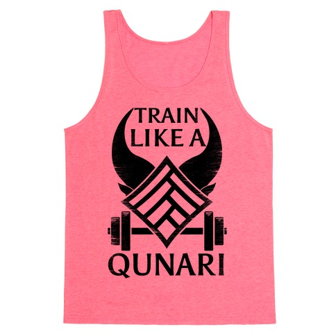 Train Like A Qunari Tank Top