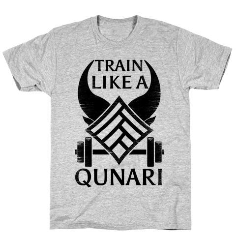 Train Like A Qunari T-Shirt