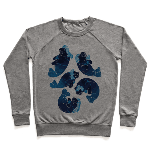 Mermaid Manatees Pullover