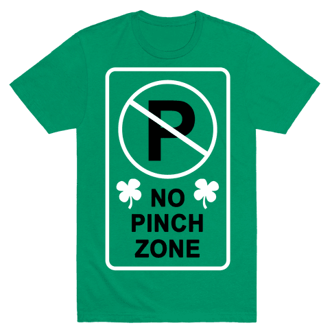 No Pinch Zone Mens T-Shirt