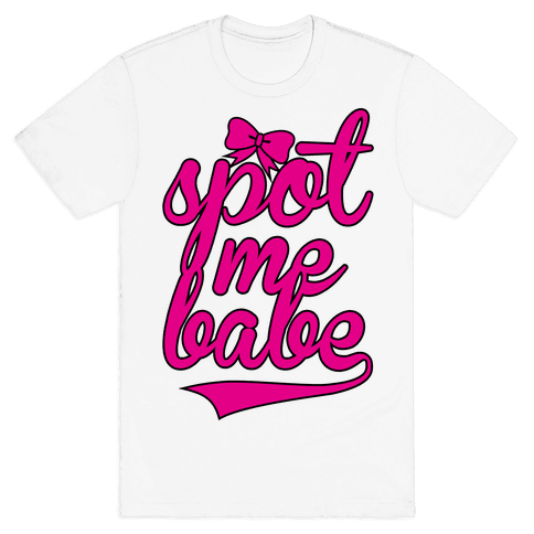 Spot Me Babe (Hers) Mens T-Shirt
