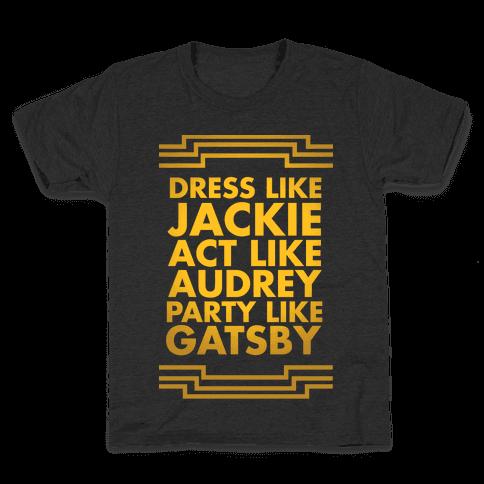Party Like Gatsby Kids T-Shirt