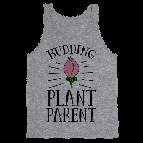 Budding Plant Parent Tank Top