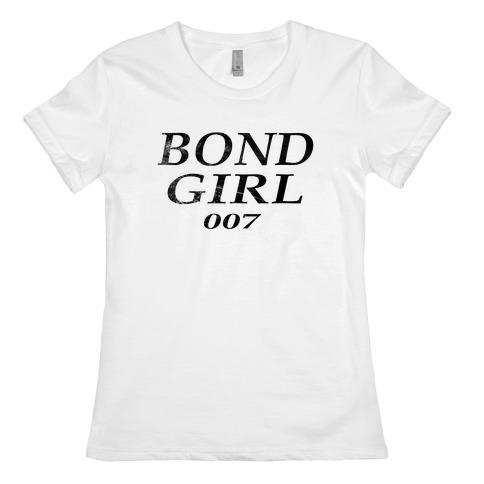 Bond Girl Womens T-Shirt