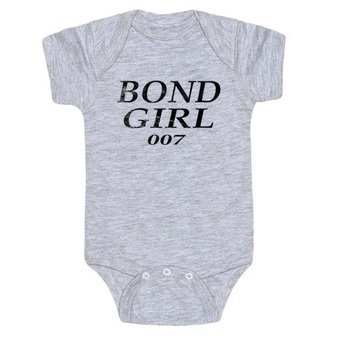 Bond Girl Baby Onesy
