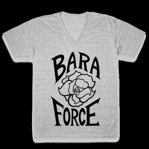 BARA FORCE V-Neck Tee Shirt