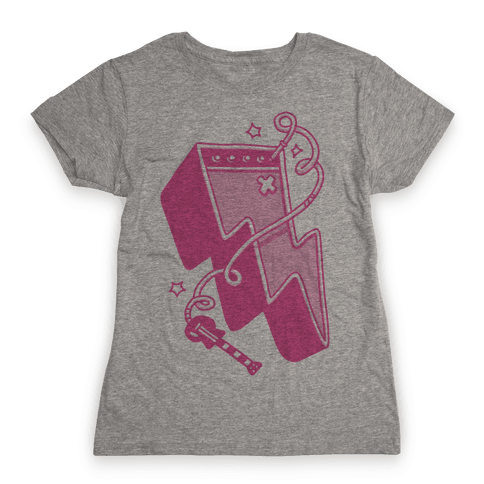 Lightning Amp Womens T-Shirt