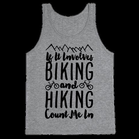 Biking and Hiking Tank Top