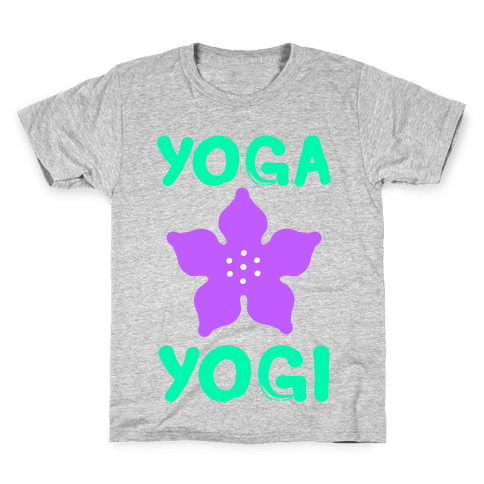 Yoga Into A Yogi Kids T-Shirt