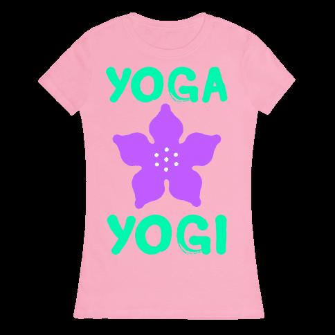 Yoga Into A Yogi Womens T-Shirt
