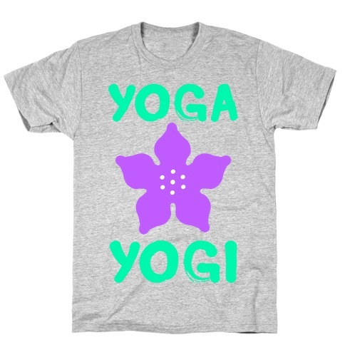 Yoga Into A Yogi T-Shirt