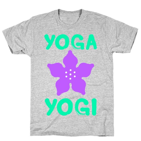 Yoga Into A Yogi Mens T-Shirt