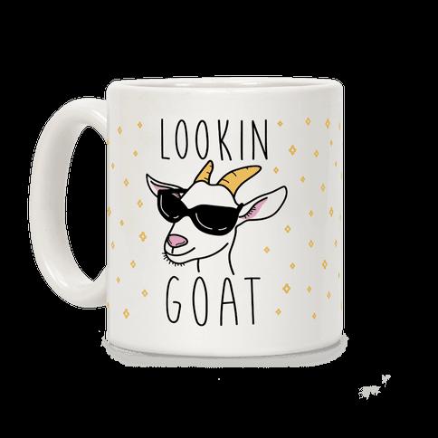 Lookin Goat Coffee Mug
