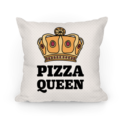 Pizza Queen Pillow