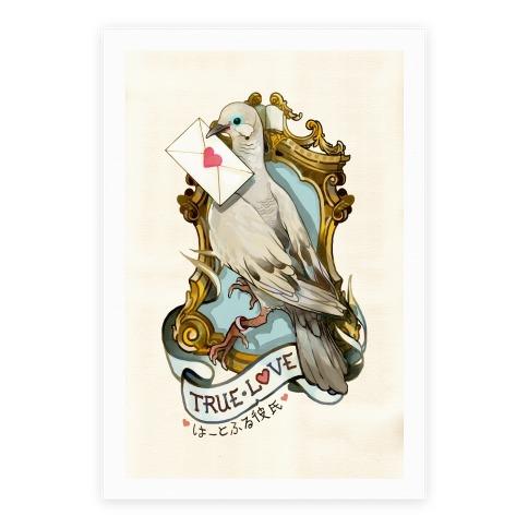 Pigeon Boyfriend Poster