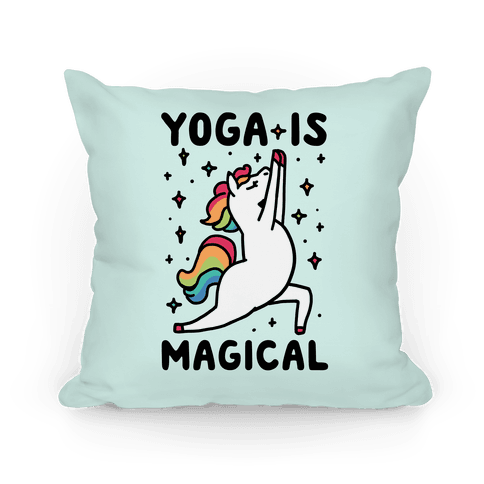 Yoga Is Magical Pillow