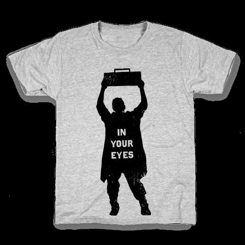 He'll Say Anything Kids T-Shirt