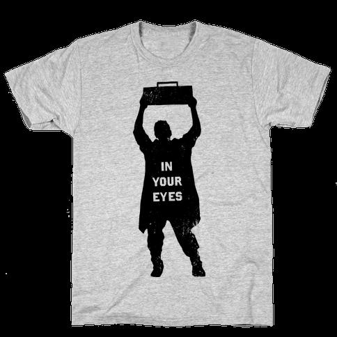 He'll Say Anything Mens T-Shirt